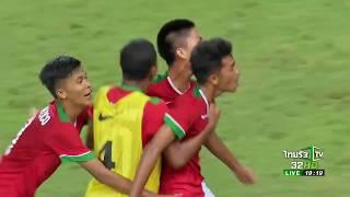 FULL HIGHTLIGHTS | Thailand vs Indonesia | AFC U16 Championship 2018