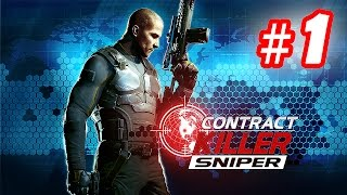 Walkthrough CONTRACT KILLER: SNIPER - Android Part 1 [1080p]
