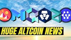 MASSIVE CRYPTO NEWS | Quant Network QNT, Crypto.com CRO, Matic Network, Zilliqa, Decentraland