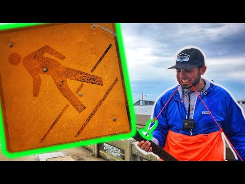 Magnet Fishing The Skyway Fishing Pier | You Won't Believe What We FOUND!