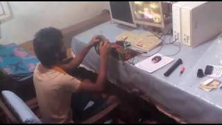 Homemade Racing Wheel NFS MW 2005 Gameplay SLK