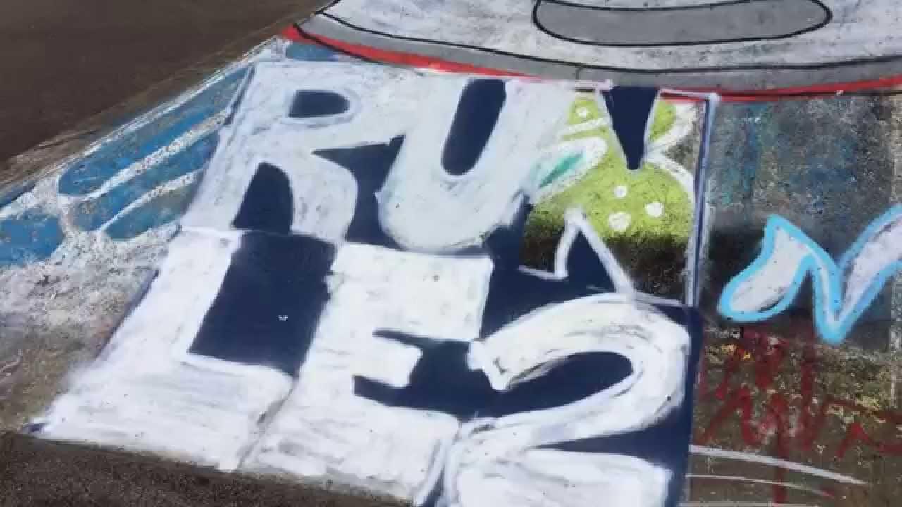 Victoria Name In Graffiti
