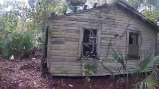abandoned house in the ghost town of Otter Creek, Florida