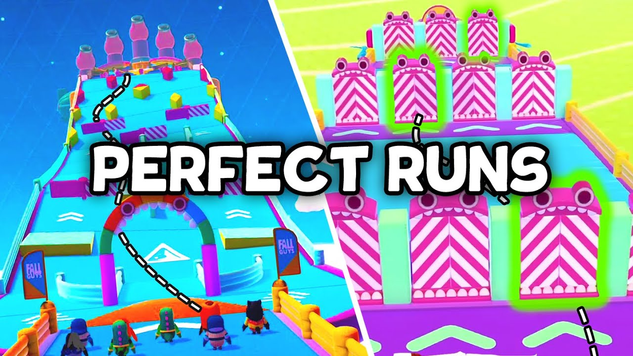 I got a PERFECT RUN on EVERY Race (Fall Guys)