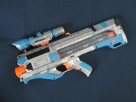 Nerf Rival Zeus MXV-1200 Modification