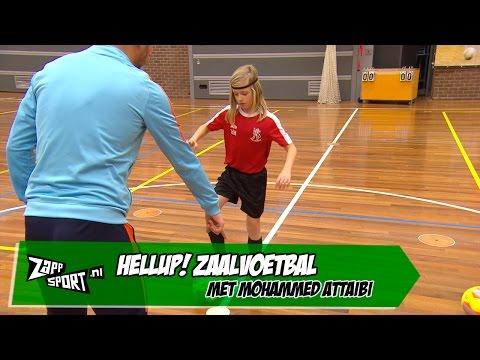 HELLUP! Zaalvoetbal met Mohammed Attaibi | ZAPPSPORT