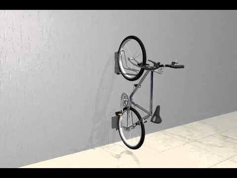 Yi 0607 Wall Mount Bike Rack Youtube