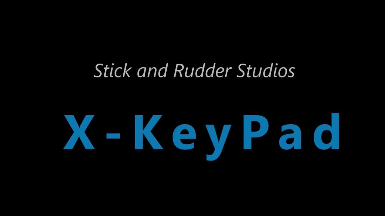 X-KeyPad for X-Keys – Stick and Rudder Studios