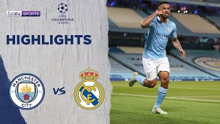 Manchester City 2-1 Real Madrid | Champions League 19/20 Match Highlights