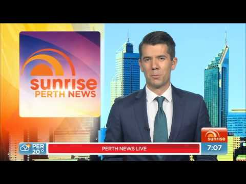 Sunrise Perth News 20150526