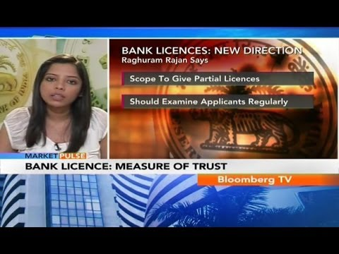 Market Pulse- To Give Bank Licenses Regularly: RBI