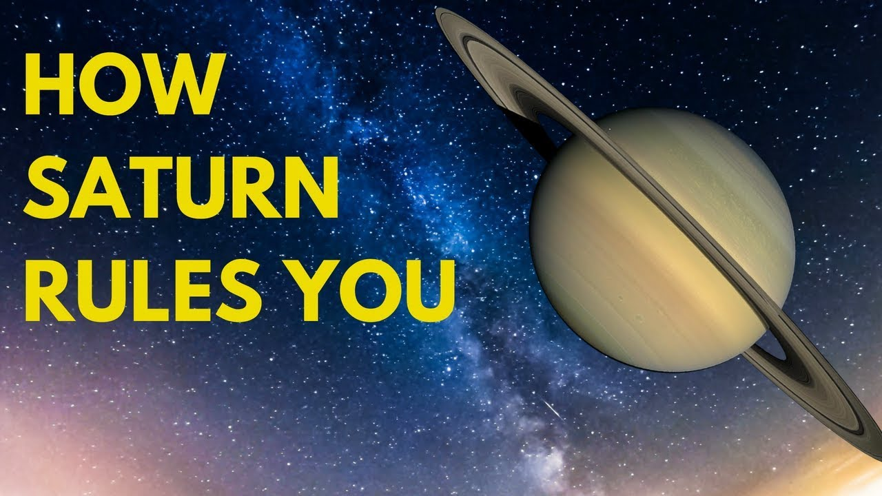 How Saturn and Other Planets Rule Over You - Simona Rich