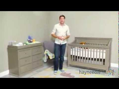 Million Dollar Baby Classics Foothill 4 in 1 Convertible Crib - Product Review Video