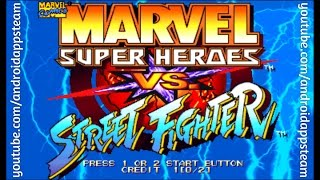 Marvel Super Heroes vs Street Fighter Para Android (Juegos Clasicos) - Android Apps Team