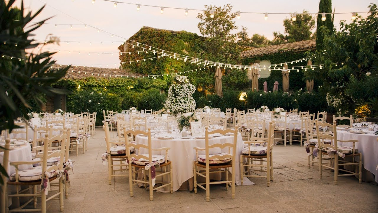 Elegant French Countryside Wedding: Beautifully Romantic Outdoor French Countryside Garden