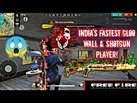 Free Fire Best Player On Phone/Insane Headshots/Villain Gaming