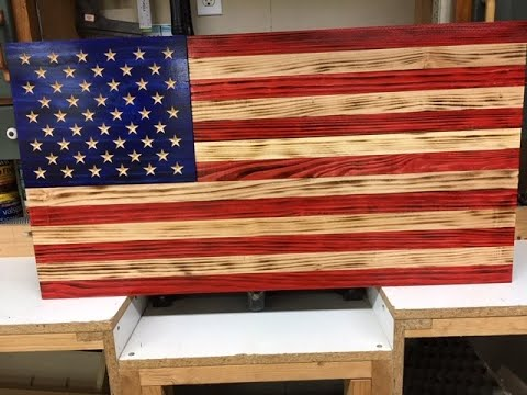 Rustic Flag Production Run