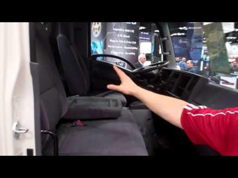 Isuzu Truck NPR Series Tour At NTEA Work Truck Show