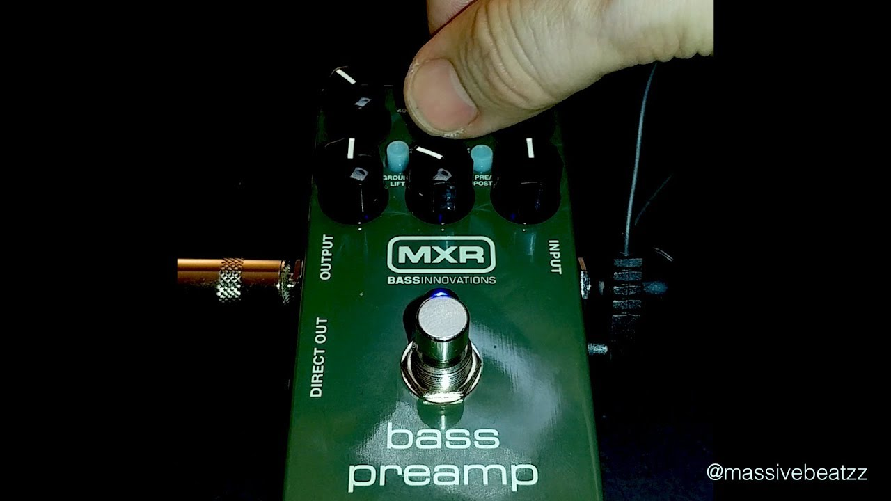 mxr m81 bass preamp di complete review youtube. Black Bedroom Furniture Sets. Home Design Ideas