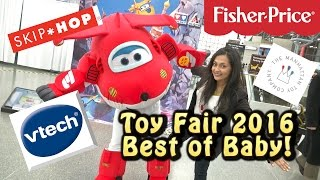 Toy Fair 2016: Best Baby Products, Diaper Bags, Toys, and more