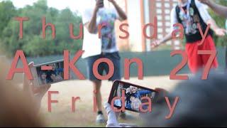 A-KON 27 VLOGS | Thursday & Friday