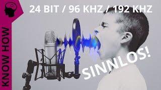 Der große Nepp: High Definition / Resolution Audio - Betrug mit Herz und Auflösung