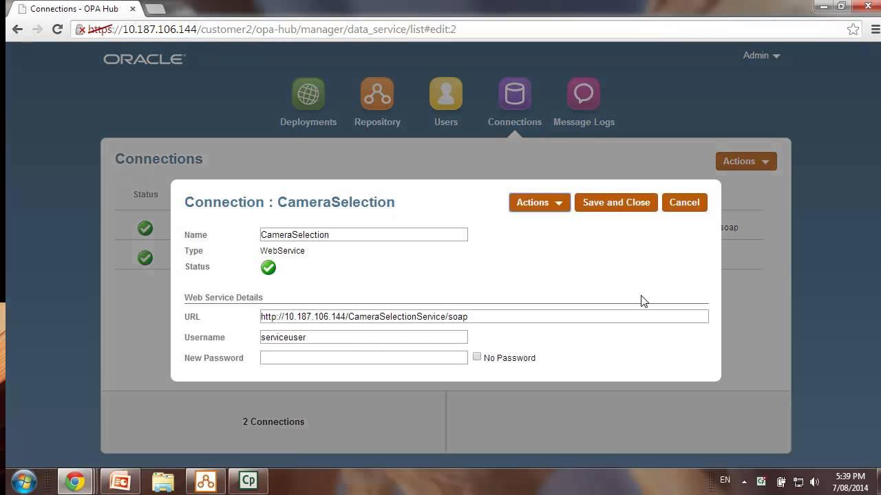 OPA August 2014 - Web Service Connectors