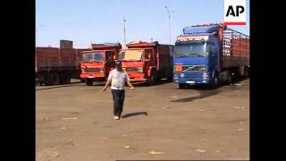 Turkish truck drivers defiant in face of Iraq security risks