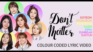 Video Produce 101 [가사 비디오] 화려강산 - Don't Matter (Colour Lyric Video) [Korean + Roman] download MP3, 3GP, MP4, WEBM, AVI, FLV Januari 2018