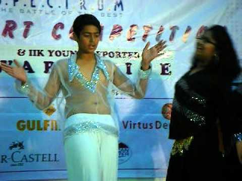 gaurav sharma dance performance in indians in kuwait (iik)