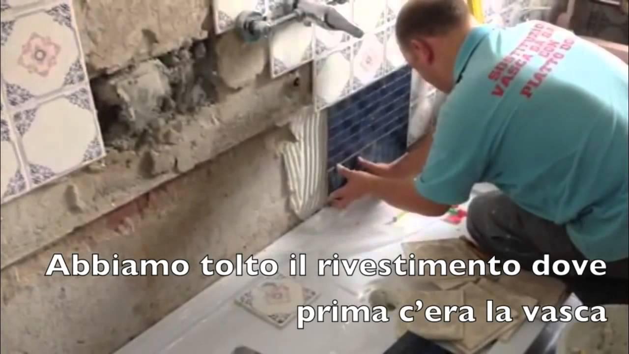 Come Cambiare La Vasca In Doccia.Cambiare La Vasca Con Doccia In Sole 6 Ore Di Lavoro Video Installazione Da Vasca A Doccia A Pisa