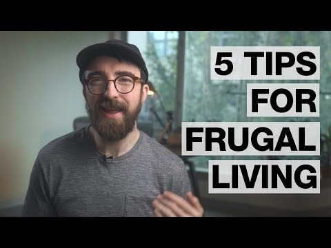 easy methods to live more frugally