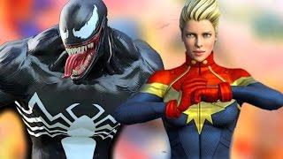 CAPITÃ MARVEL CONTRA A INFESTAÇÃO DE VENOM! Marvel Heroes Omega | CLOSED BETA | Português