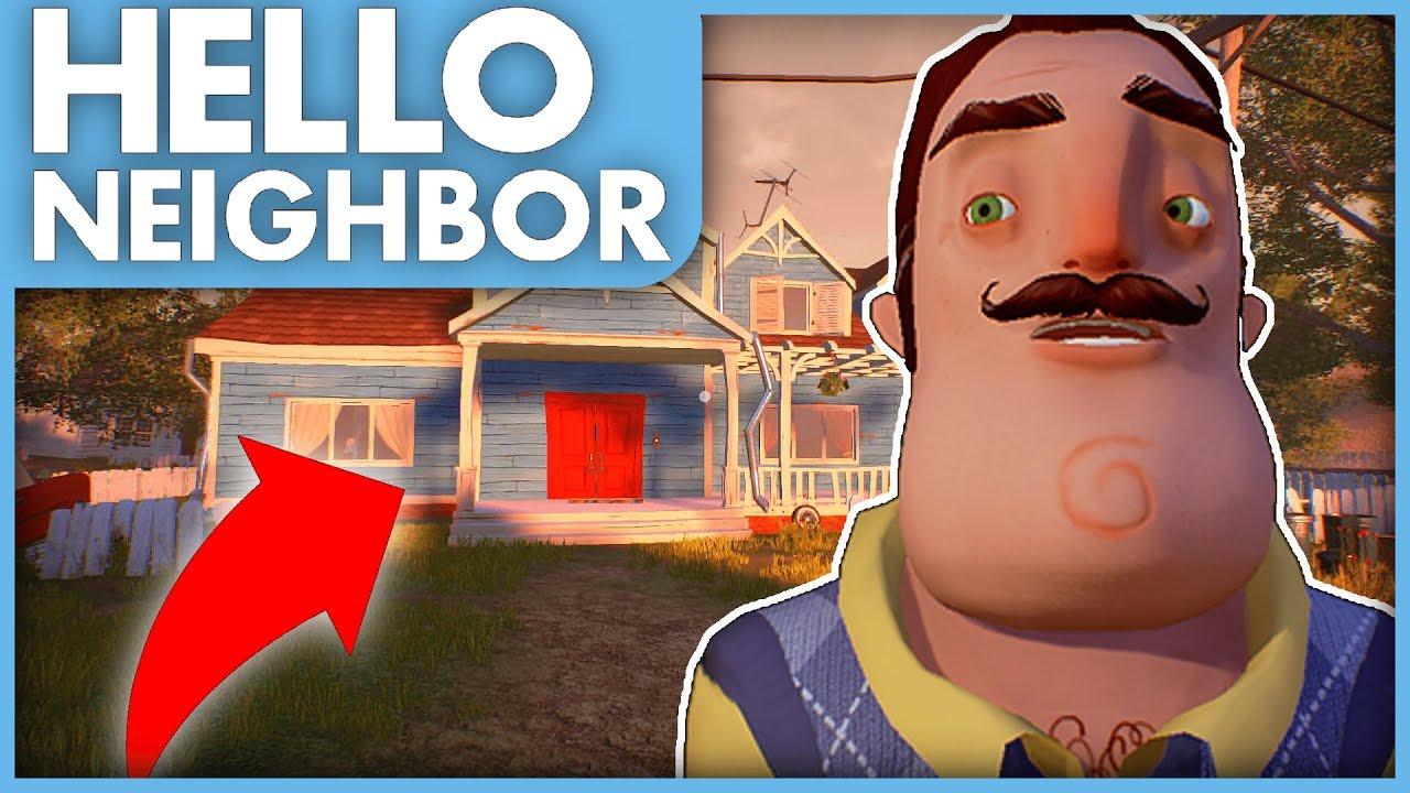 NEW UPDATE, NEW HOUSE, NEW SECRETS! - Hello Neighbor ...