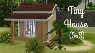Sims 3 House Building - Tiny House 5x3