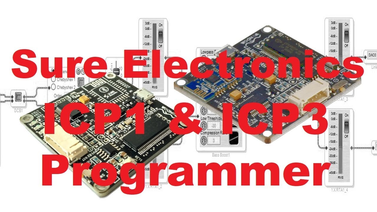 Sure Electronics Programmer ICP1 und ICP3
