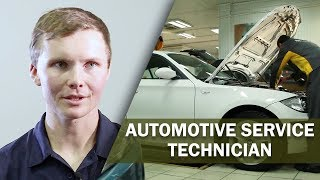 Job Talks - Automotive Service Technician - Seaton Explains Why it's More Than Just Cars