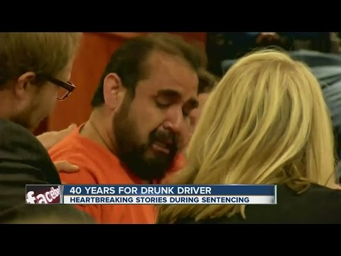 40 year sentence for DUI driver