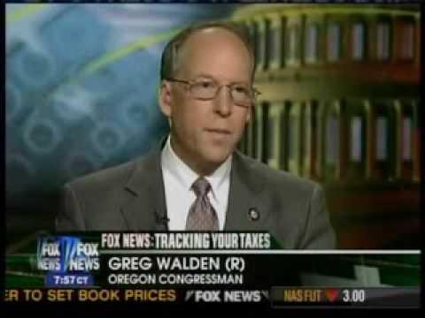 Rep. Greg Walden on Questionable NIH Grants