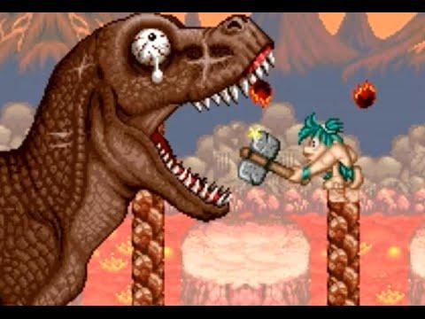 Joe & Mac 2: Lost in the Tropics (SNES) Playthrough - NintendoComplete