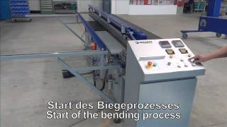 bv300 welding by bending machine for plastic sheets