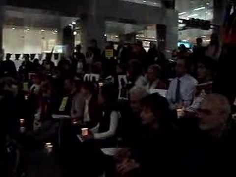 Sydney, Multi Faith Prayer and Candlelight Vigil Wed 9 April