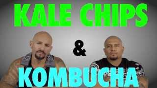 cholos try vegan food kale chips and kombucha mit