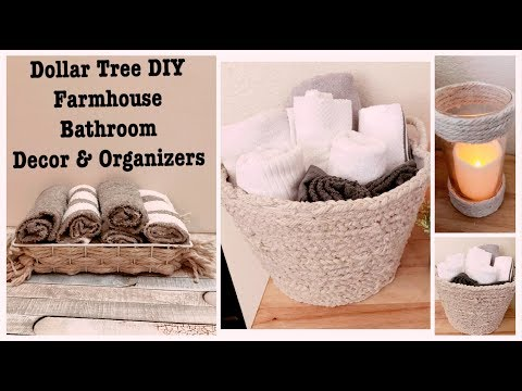 dollar-tree-diy-farmhouse-bathroom-decor-&-organizers-|-trash-to-treasure