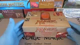 Antiquities booster 8 MTG Opened for your enjoyment from fresh box!