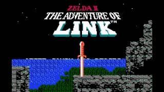 Zelda II - The Adventure of Link - Title Screen - User video