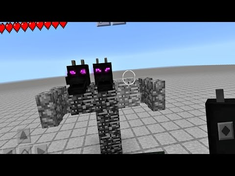 Spawning A New Boss In Minecraft Pocket Edition - No Mods - YT