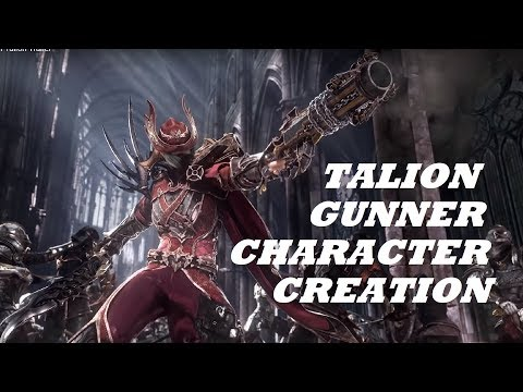 Aizen/Gunner Class Character Creation And Gameplay - Talion (Android/IOS)