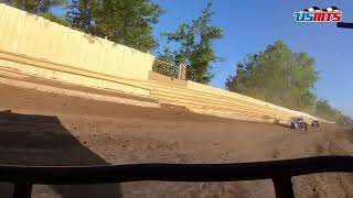 Marriott hunted: USMTS in-car from Creek County Speedway