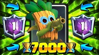 #1 DECK IN THE WORLD!! 7000+ TROPHY CYCLE DECK IN CLASH ROYALE!!